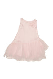 Baby Biscotti Asymmetrical Waist Birthday Girl Dress