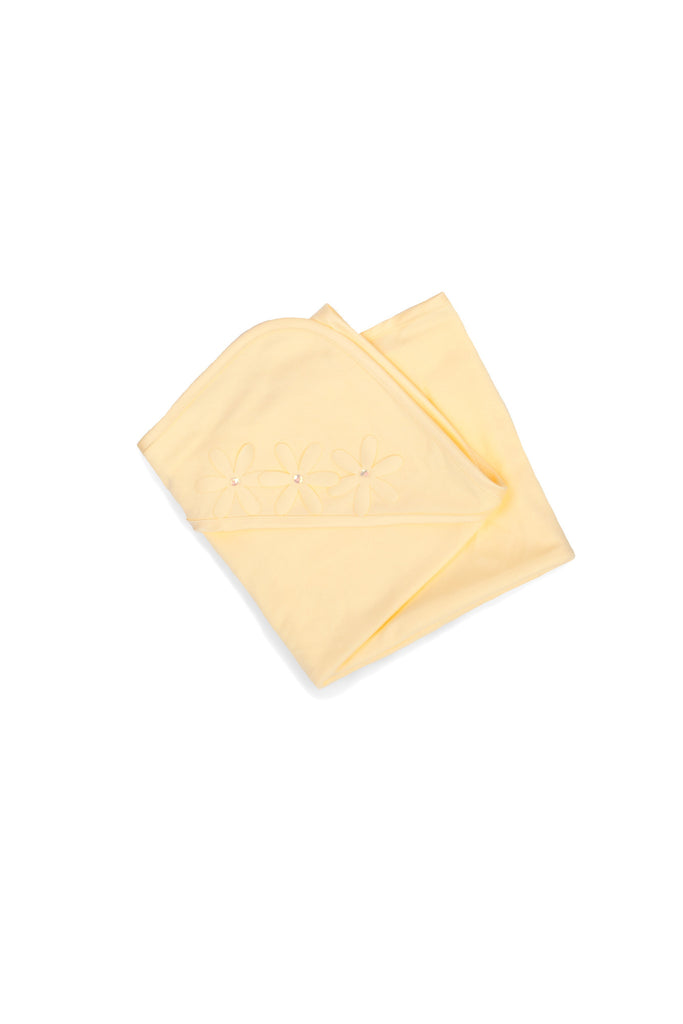 Biscotti Baby-Girl's Infant Oopsy Daisy Blanket in Yellow - One Size