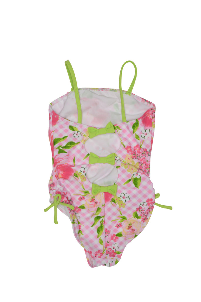 Kate Mack Gingham Garland 1-Piece Swimsuit