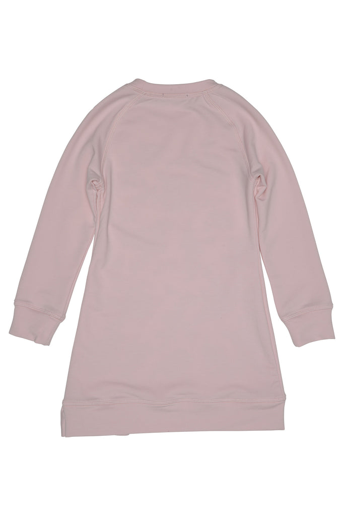 Kate Mack Sporty Sparkle Sweatshirt Dress, Pink