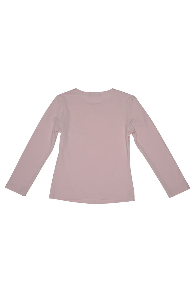 Kate Mack Sporty Sparkle Knit Tee , Pink