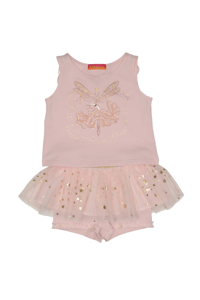 Kate Mack Fairy Dance Top & Tutu Skort