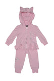 Kate Mack Pretty Kitty Hoodie & Pant