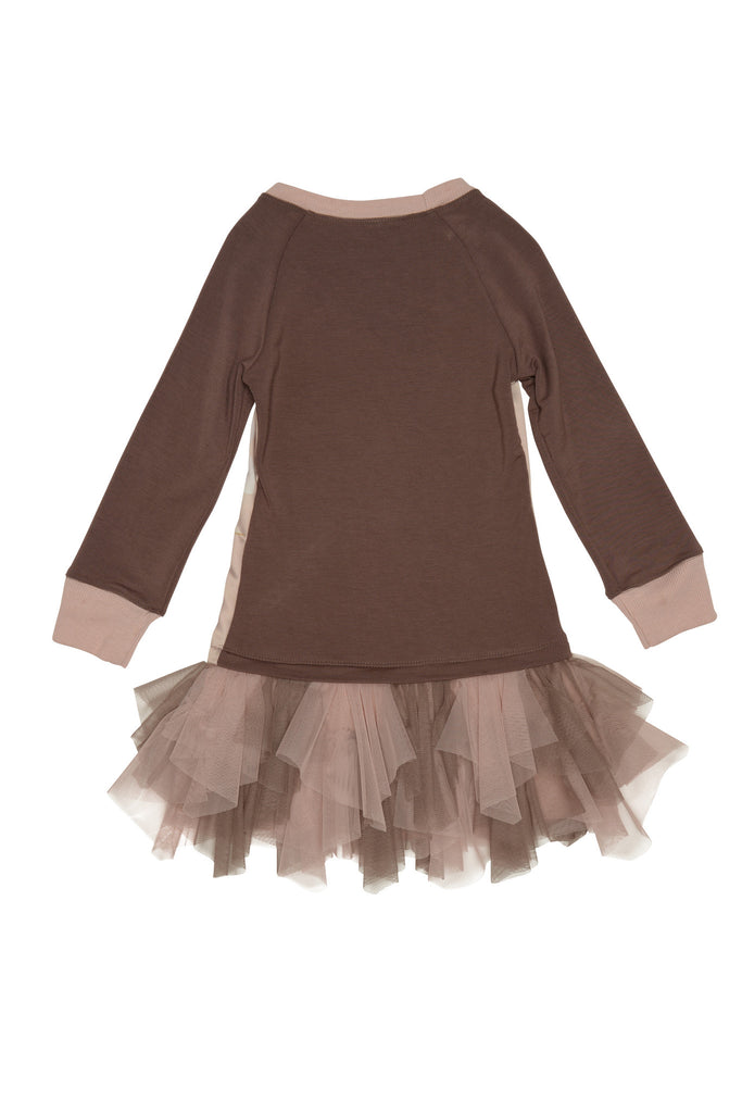 Kate Mack Heart of Gold Dress, Cocoa