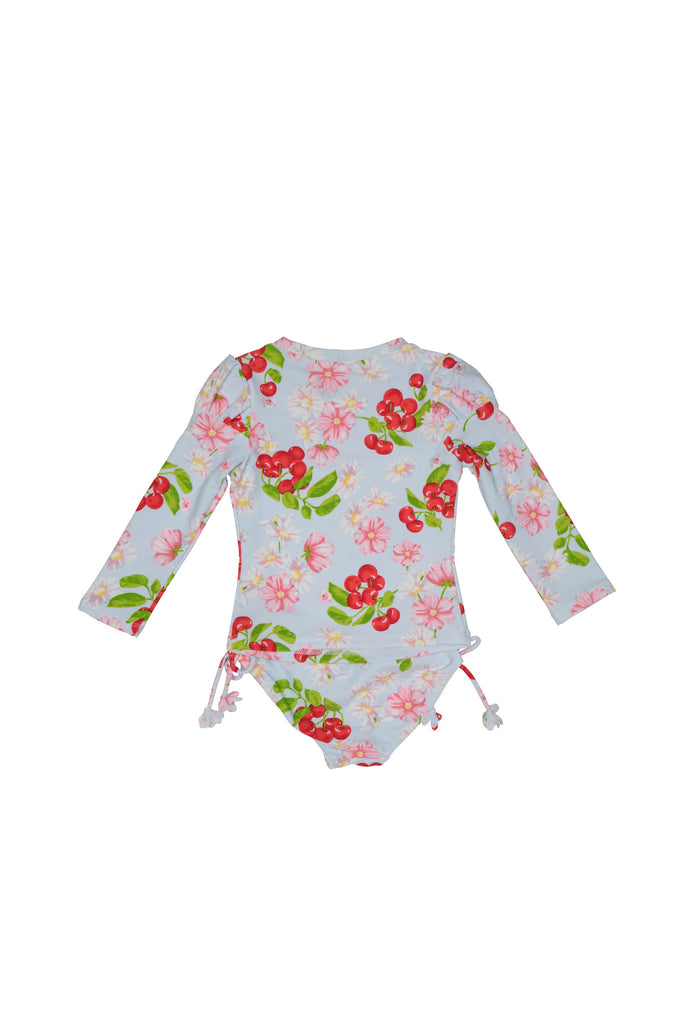 Kate Mack Cherries Jubilee Swim Rashguard & Bottom