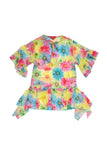 Kate Mack Dipped In Daisies Daisy Print Chiffon Coverup