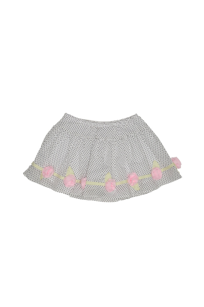 Kate Mack Polka Rose Skirt