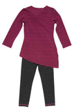 Kate Mack Bon Vivant Top & Legging in Fuschia
