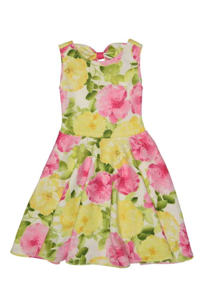 Kate Mack Radiant Roses Scuba Dress