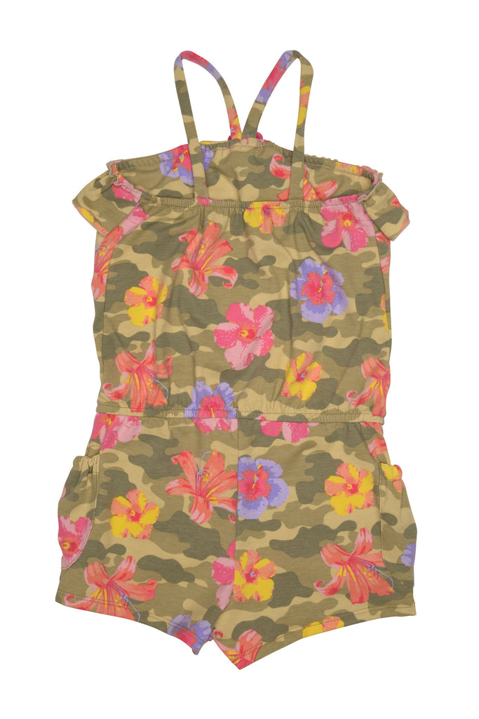 Kate Mack Camo Flower Romper