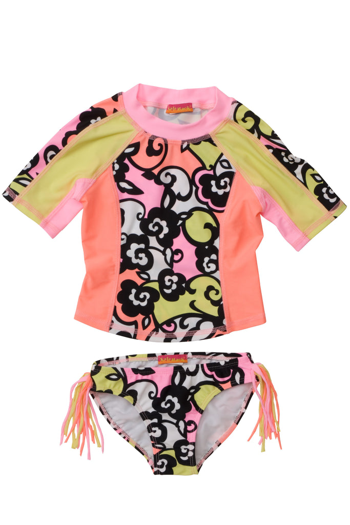 Kate Mack Feelin' Groovy 2-Piece Surf Shirt and Bottom