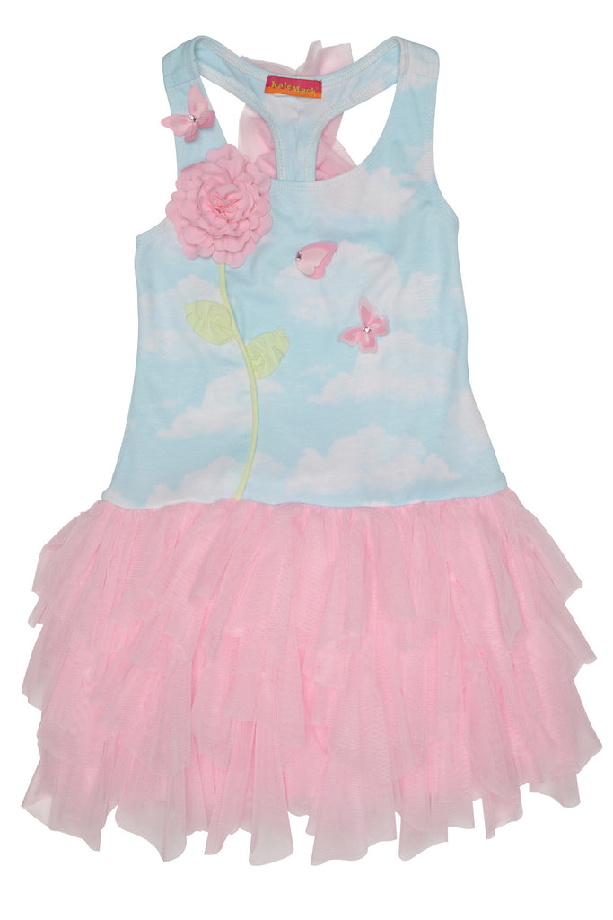 Kate Mack Butterfly Sky Dress