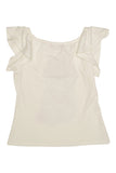Kate Mack Kitty Kahlo Tee, Cream