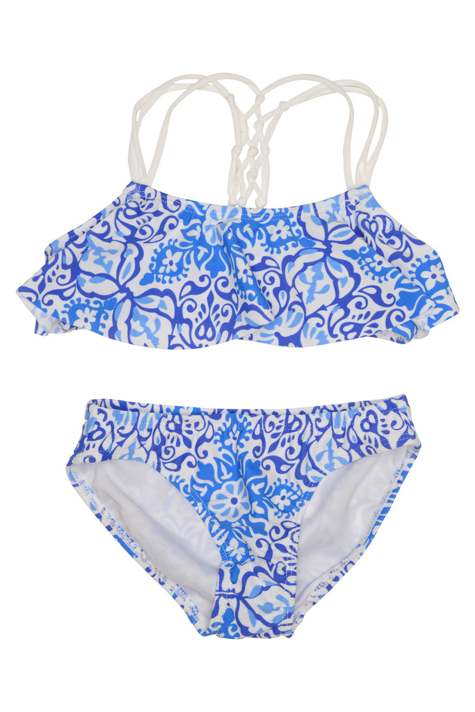 Kate Mack Butterfly Beach 2pc Swimsuit - Blue