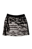 Kate Mack  Wild Princess Sequined Skirt