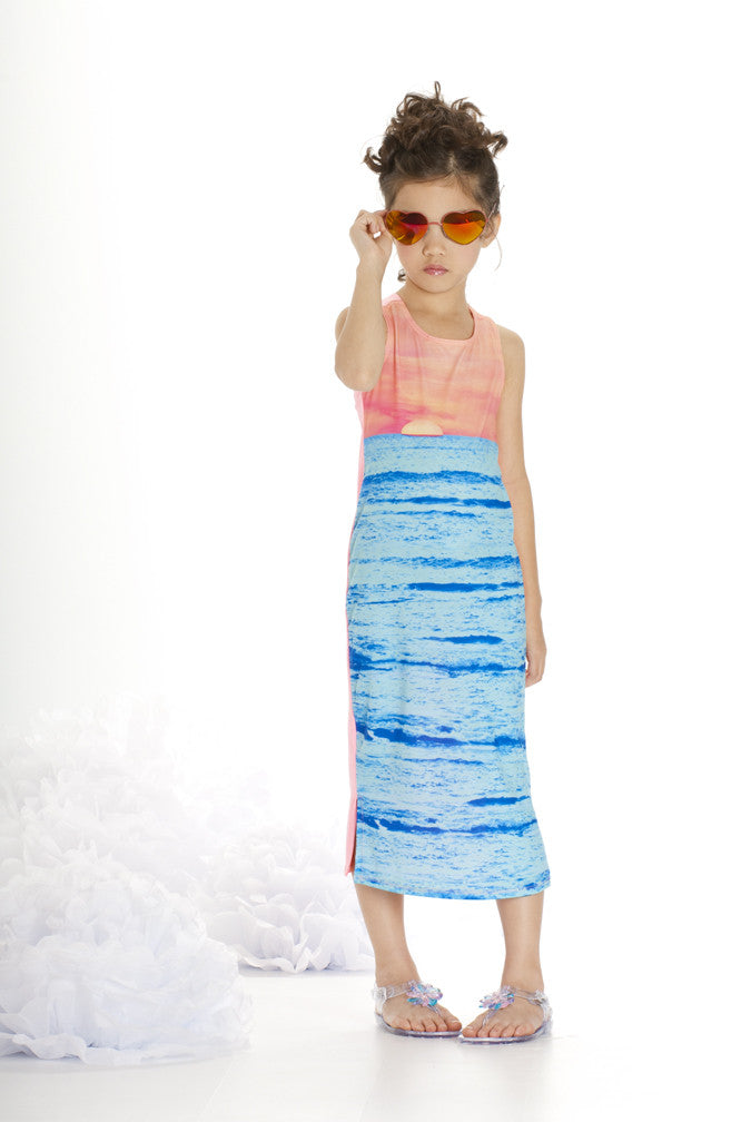 KATE MACK SUNSET BEACH  DRESS