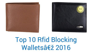 Top 10 RFID wallets of 2016