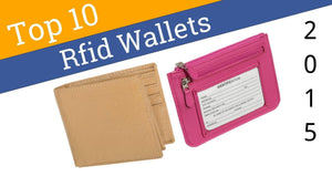 Top 10 RFID wallets of 2015