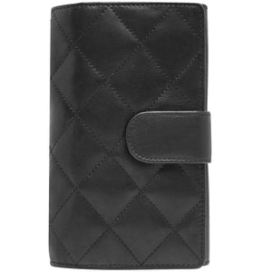 Leather Wallet Clutch Bag