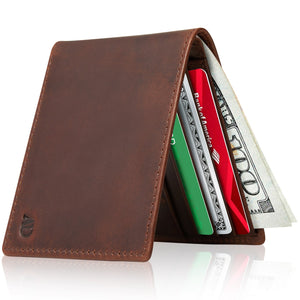 Slim Bifold Wallet With ID Window