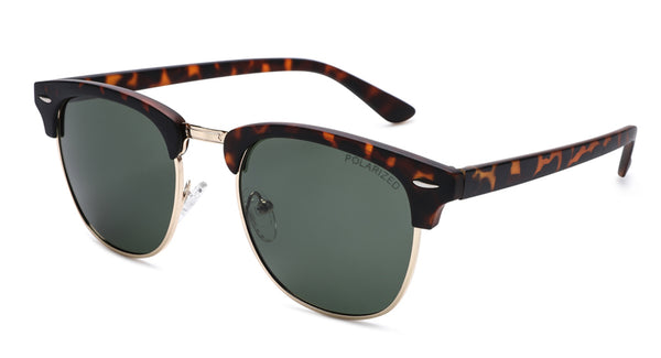 Classical Clubmaster Polarized Sunglasses