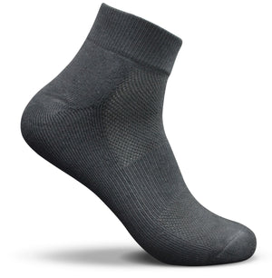 Mid Cut Basic Socks For Men And Women Black | Access Accessories