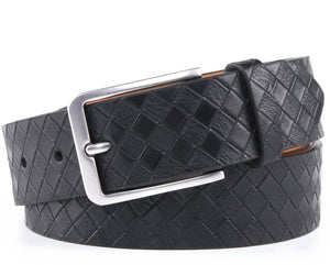 Full Grain Genuine Leather Belt Black | Access Accessories