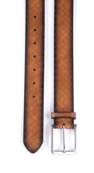 Full Grain Genuine Leather Belt Tan | Access Accessories
