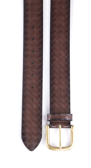Full Grain Genuine Leather Belt Brown | Access Accessories