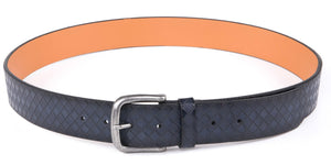 Full Grain Genuine Leather Belt Blue | Access Accessories