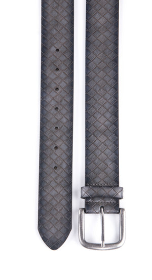 Full Grain Genuine Leather Belt Gray | Access Accessories