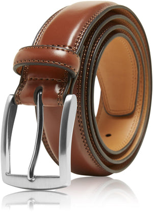 Genuine Leather Belt For Men Brown | Access Denied