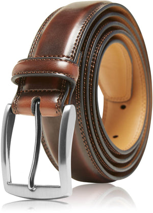 Genuine Leather Belt For Men Cognac | Access Denied