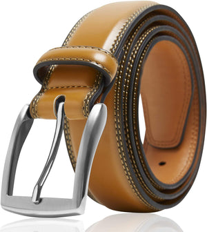 Genuine Leather Belt For Men Tan | Access Denied