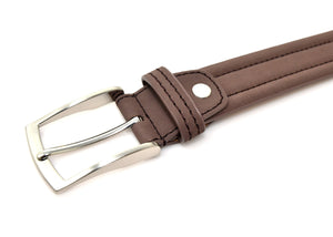 Genuine Leather Belt For Men Brown Nubuck | Access Denied