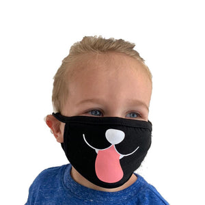 Kids Face Mask (Stretchy Fits Ages 2-9) - Made In USA