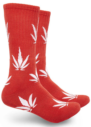 Marijuana Leaf Print High-Top Theme Socks
