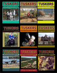 10 Various Back Issues of Tuskers