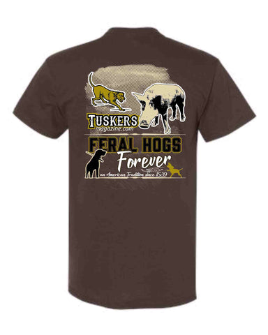Feral Hogs Forever tee