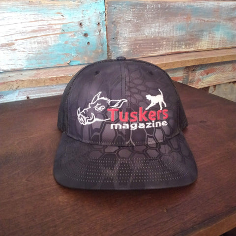 Kryptek black Richardson Cap