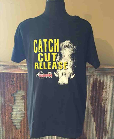 Catch. Cut. Release. Tee