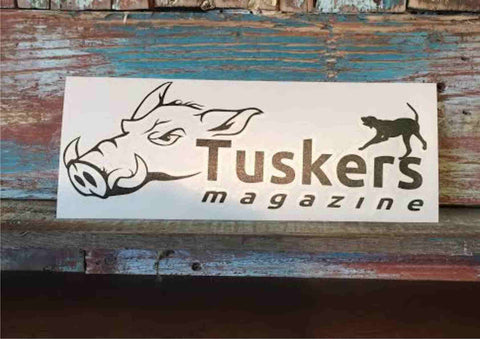 Tuskers Logo window decal