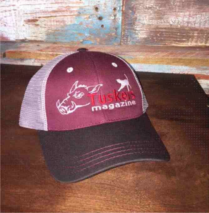 Tri-Colored Maroon Cap