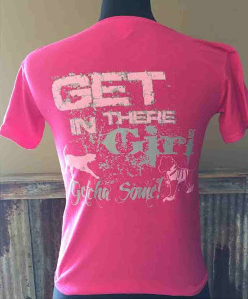 Get in there Girl - Youth Tee