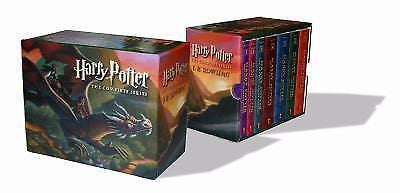 Harry Potter Paperback Box Set Books 1-7 1 2 3 4 5 6 7 New - FaveShop