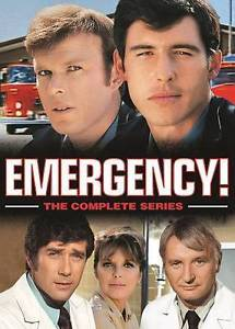 Emergency: The Complete Series Box Set 32-Disc Set DVD 2016 Brand New - FaveShop