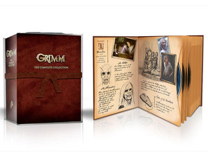 Grimm: The Complete Series 1-5 1 2 3 4 5 29-Disc Set DVD 2017 Brand New Sealed - FaveShop