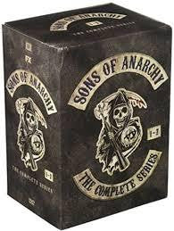 Sons Of Anarchy: The Complete Series Seasons 1-7 DVD 2015 Brand New - FaveShop