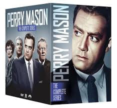 Perry Mason: Complete Series Seasons 1-9 1 2 3 4 5 6 7 8 9 DVD Box Set 2016 New - FaveShop