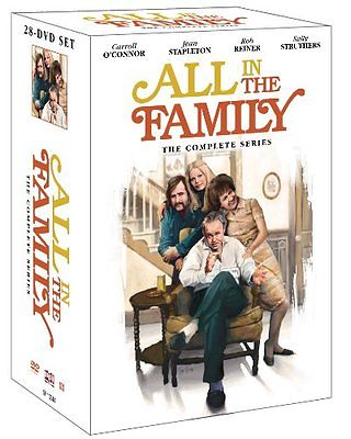 All in the Family The Complete Series Seasons 1-9 DVD 28-Disc Set 2012 Brand New Comedy - FaveShop
